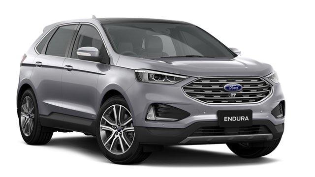 New Ford Endura CA 2019MY Titanium SelectShift AWD, 2018 Ford Endura CA 2019MY Titanium SelectShift AWD Ingot Silver 8 Speed Sports Automatic Wagon