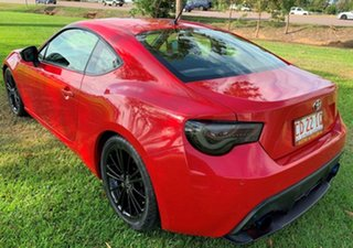 2012 Toyota 86 ZN6 GTS Red 6 Speed Sports Automatic Coupe
