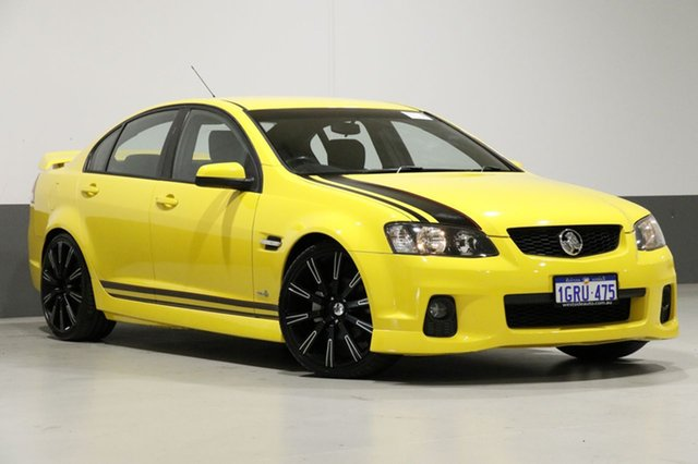 Used Holden Commodore VE II SV6, 2011 Holden Commodore VE II SV6 Yellow 6 Speed Manual Sedan