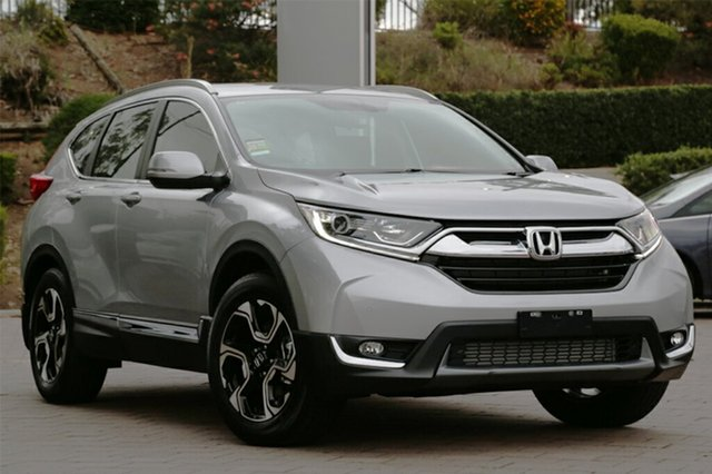 New Honda CR-V RW MY18 VTi-L FWD, 2018 Honda CR-V RW MY18 VTi-L FWD Lunar Silver 1 Speed Constant Variable SUV