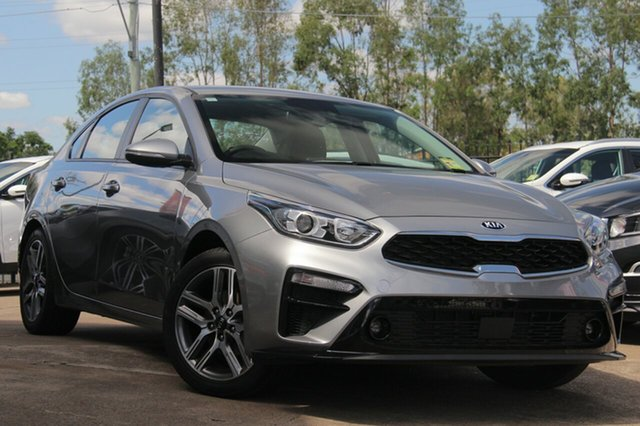 Demo Kia Cerato BD MY19 Sport+, 2018 Kia Cerato BD MY19 Sport+ Steel Grey 6 Speed Sports Automatic Sedan