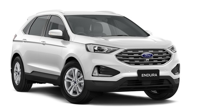 New Ford Endura CA 2019MY Trend SelectShift FWD, 2018 Ford Endura CA 2019MY Trend SelectShift FWD White Platinum 8 Speed Sports Automatic Wagon