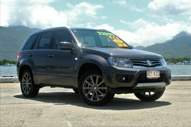 Used Suzuki Grand Vitara JB Navigator 2WD, 2016 Suzuki Grand Vitara JB Navigator 2WD Quasar Grey 5 Speed Manual Wagon