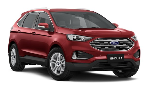 New Ford Endura CA 2019MY Trend SelectShift AWD, 2018 Ford Endura CA 2019MY Trend SelectShift AWD Ruby Red 8 Speed Sports Automatic Wagon
