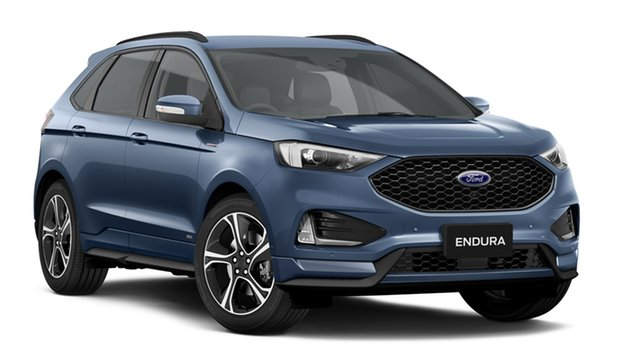 New Ford Endura CA 2019MY ST-Line SelectShift AWD, 2018 Ford Endura CA 2019MY ST-Line SelectShift AWD Blue Metallic 8 Speed Sports Automatic Wagon
