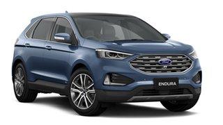 2019 Ford Endura CA 2019MY Titanium Blue Metallic 8 Speed Sports Automatic Wagon.