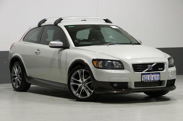 Used Volvo C30 MY09 T5, 2008 Volvo C30 MY09 T5 White 5 Speed Auto Geartronic Hatchback