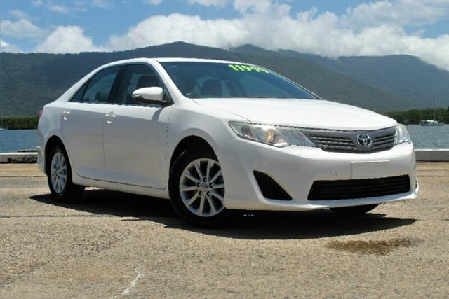 Used Toyota Camry ASV50R Altise, 2013 Toyota Camry ASV50R Altise White 6 Speed Sports Automatic Sedan