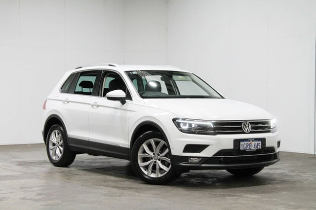 Used Volkswagen Tiguan 5N MY18 162TSI DSG 4MOTION Highline, 2018 Volkswagen Tiguan 5N MY18 162TSI DSG 4MOTION Highline White 7 Speed