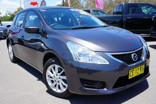 Used Nissan Pulsar C12 Series 2 ST, 2015 Nissan Pulsar C12 Series 2 ST Grey 1 Speed Constant Variable Hatchback