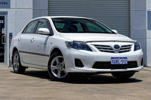 Used Toyota Corolla ZRE152R Conquest, 2010 Toyota Corolla ZRE152R Conquest White 4 Speed Automatic Sedan