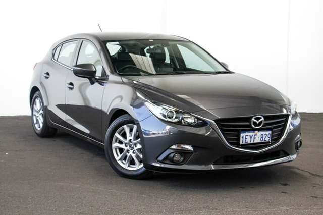 Used Mazda 3 BM Touring, 2015 Mazda 3 BM Touring Grey 6 Speed Automatic Hatchback