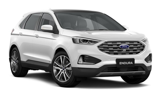 New Ford Endura CA 2019MY Titanium SelectShift AWD, 2019 Ford Endura CA 2019MY Titanium SelectShift AWD White Platinum 8 Speed Sports Automatic SUV