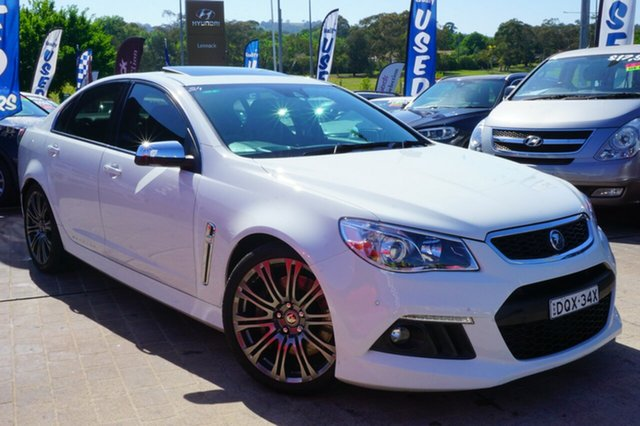 Used Holden Special Vehicles Senator GEN-F MY14 Signature, 2014 Holden Special Vehicles Senator GEN-F MY14 Signature White 6 Speed Sports Automatic Sedan