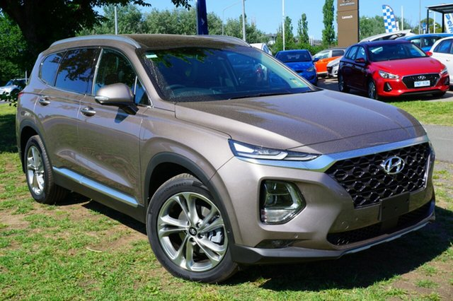 Demo Hyundai Santa Fe TM MY19 Highlander, 2018 Hyundai Santa Fe TM MY19 Highlander Earthly Bronze 8 Speed Sports Automatic Wagon