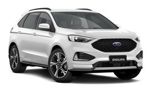 2019 Ford Endura CA 2019MY ST-Line SelectShift FWD White Platinum 8 Speed Sports Automatic Wagon