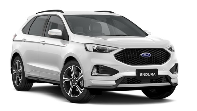 New Ford Endura CA 2019MY ST-Line SelectShift AWD, 2018 Ford Endura CA 2019MY ST-Line SelectShift AWD White Platinum 8 Speed Sports Automatic Wagon