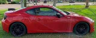 2012 Toyota 86 ZN6 GTS Red 6 Speed Sports Automatic Coupe.