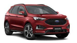2018 Ford Endura CA 2019MY ST-Line SelectShift FWD Ruby Red 8 Speed Sports Automatic Wagon