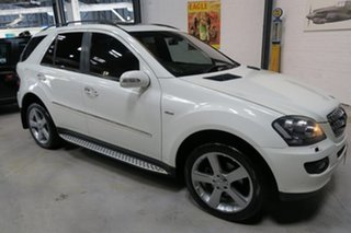 2008 Mercedes-Benz ML320 CDI W164 MY08 Edition 10 White 7 Speed Sports Automatic Wagon.