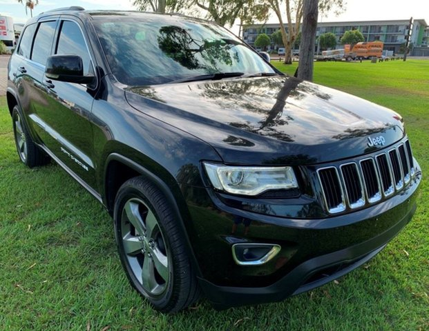 Used Jeep Grand Cherokee WK MY2014 Laredo, 2014 Jeep Grand Cherokee WK MY2014 Laredo Black 8 Speed Automatic Wagon