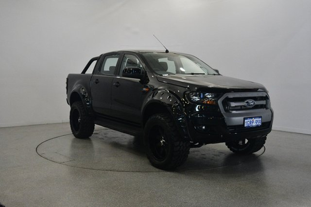 Used Ford Ranger PX MkII XLS Double Cab, 2017 Ford Ranger PX MkII XLS Double Cab Black 6 Speed Sports Automatic Utility