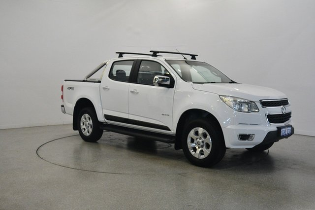 Used Holden Colorado RG MY14 LTZ Crew Cab, 2013 Holden Colorado RG MY14 LTZ Crew Cab White 6 Speed Sports Automatic Utility