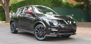 2018 Nissan Juke F15 MY18 NISMO X-tronic AWD RS Pearl Black 8 Speed Constant Variable Hatchback.