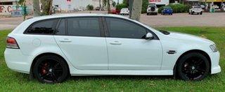2009 Holden Commodore VE MY09.5 SV6 Sportwagon White 5 Speed Automatic Wagon.