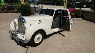 1951 Bentley MKVI Old English White 4 Speed Manual Sedan