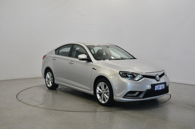 Used MG MG6 IP2X Excite, 2017 MG MG6 IP2X Excite Silver 6 Speed Sports Automatic Dual Clutch Hatchback
