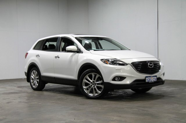 Used Mazda CX-9 TB10A5 Grand Touring Activematic AWD, 2013 Mazda CX-9 TB10A5 Grand Touring Activematic AWD White 6 Speed Sports Automatic Wagon