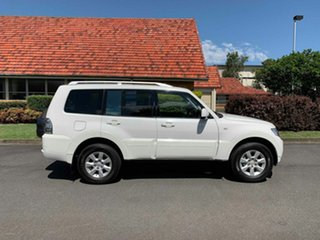 2011 Mitsubishi Pajero NT GLS White 5 Speed Automatic Wagon.