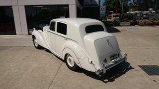 1951 Bentley MKVI Old English White 4 Speed Manual Sedan.
