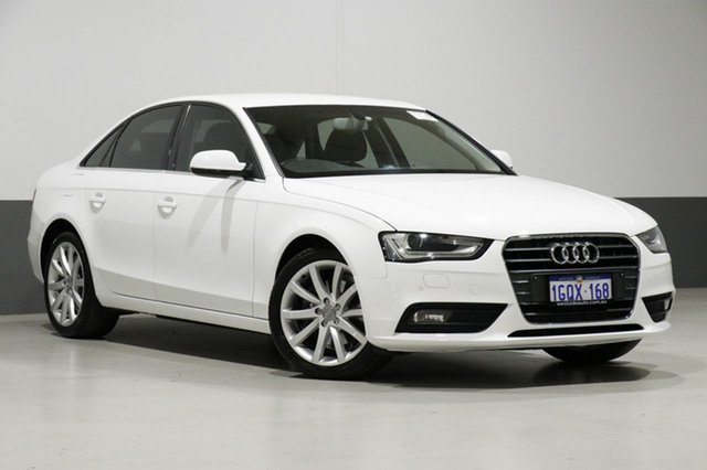 Used Audi A4 B8 (8K) MY13 3.0 TDI, 2013 Audi A4 B8 (8K) MY13 3.0 TDI White CVT Multitronic Sedan