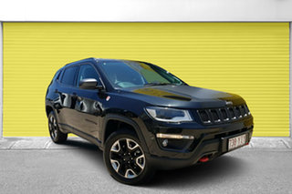 2017 Jeep Compass M6 MY18 Trailhawk Black Pearl 9 Speed Automatic Wagon.
