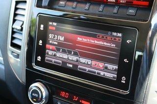 2015 Mitsubishi Pajero NX MY16 GLS White 5 Speed Sports Automatic Wagon