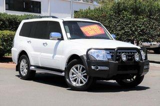 2015 Mitsubishi Pajero NX MY16 GLS White 5 Speed Sports Automatic Wagon.