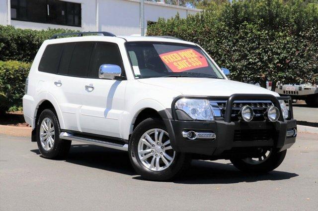 Used Mitsubishi Pajero NX MY16 GLS, 2015 Mitsubishi Pajero NX MY16 GLS White 5 Speed Sports Automatic Wagon