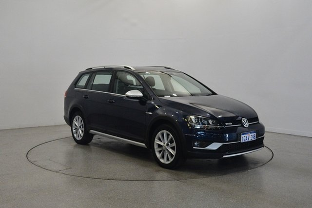Used Volkswagen Golf VII MY16 Alltrack DSG 4MOTION 132TSI, 2016 Volkswagen Golf VII MY16 Alltrack DSG 4MOTION 132TSI Blue 6 Speed Sports Automatic Dual Clutch