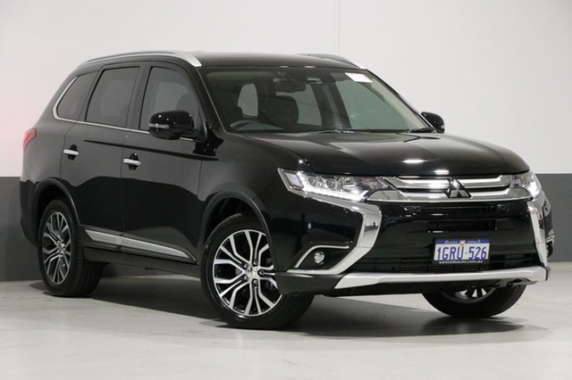 Used Mitsubishi Outlander ZL MY18.5 Exceed 7 Seat (awd), 2018 Mitsubishi Outlander ZL MY18.5 Exceed 7 Seat (awd) Black 6 Speed Automatic Wagon