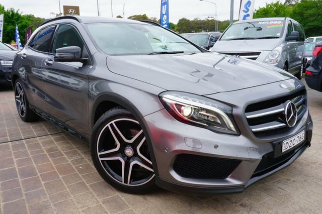 Used Mercedes-Benz GLA 250 4MATIC X156 DCT 4MATIC, 2014 Mercedes-Benz GLA 250 4MATIC X156 DCT 4MATIC Grey 7 Speed Sports Automatic Dual Clutch Wagon