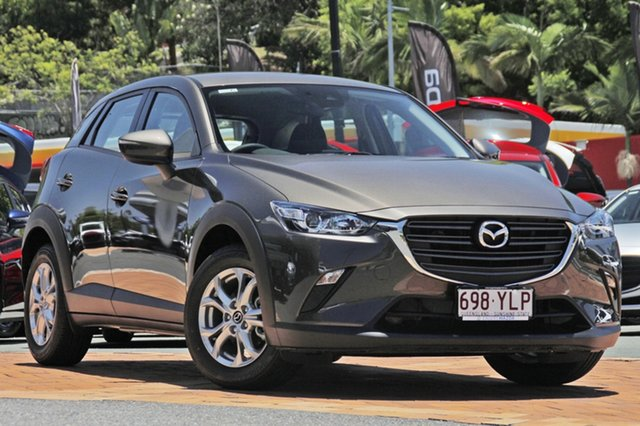 Demo Mazda CX-3 DK2W7A Maxx SKYACTIV-Drive, 2018 Mazda CX-3 DK2W7A Maxx SKYACTIV-Drive Titanium Flash 6 Speed Sports Automatic Wagon