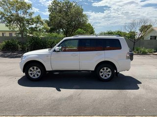 2011 Mitsubishi Pajero NT GLS White 5 Speed Automatic Wagon
