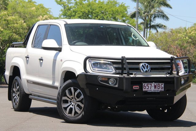 Used Volkswagen Amarok 2H MY15 TDI420 4MOTION Perm Canyon, 2015 Volkswagen Amarok 2H MY15 TDI420 4MOTION Perm Canyon White 8 Speed Automatic Utility