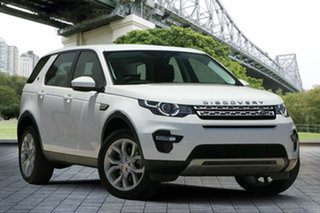 2017 Land Rover Discovery Sport L550 17MY TD4 150 HSE White 9 Speed Sports Automatic Wagon.