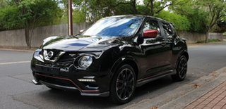 2018 Nissan Juke F15 MY18 NISMO X-tronic AWD RS Pearl Black 8 Speed Constant Variable Hatchback