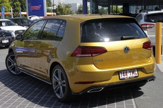 2018 Volkswagen Golf 7.5 MY18 110TDI DSG Highline Turmeric Yellow 7 Speed.