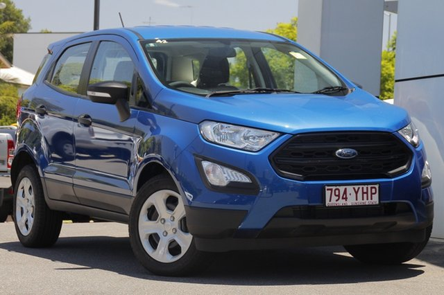 Demo Ford Ecosport BL Ambiente, 2018 Ford Ecosport BL Ambiente Blue Lightning 6 Speed Automatic Wagon