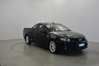 2013 Ford Falcon FG MkII XR6 Super Cab Black 6 Speed Manual Cab Chassis